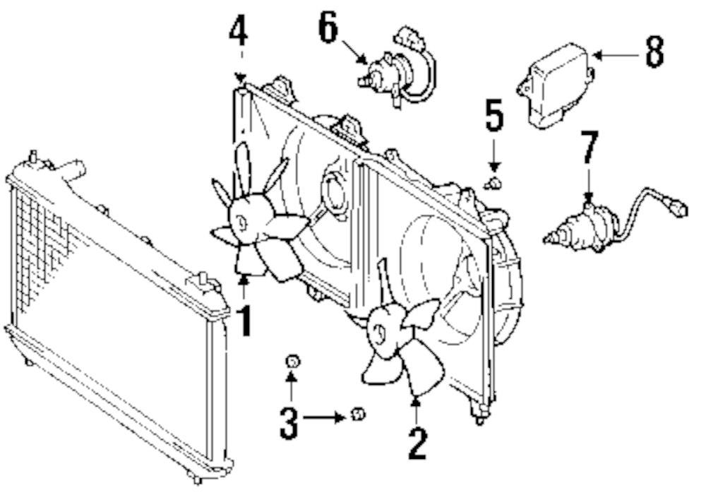 mitsubishi endeavor blower motor resistor location
