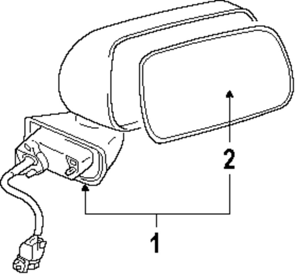 2004 mitsubishi endeavor parts catalog