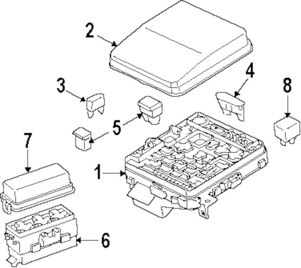 Browse A Sub Category To Buy Parts From This Is Not Real Site Automotive Fuse Box Manufacturer Genuine Mitsubishi Cover Mit 8565a139