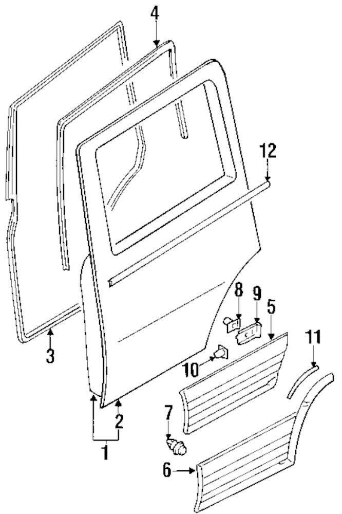 1997 Mitsubishi Montero Parts