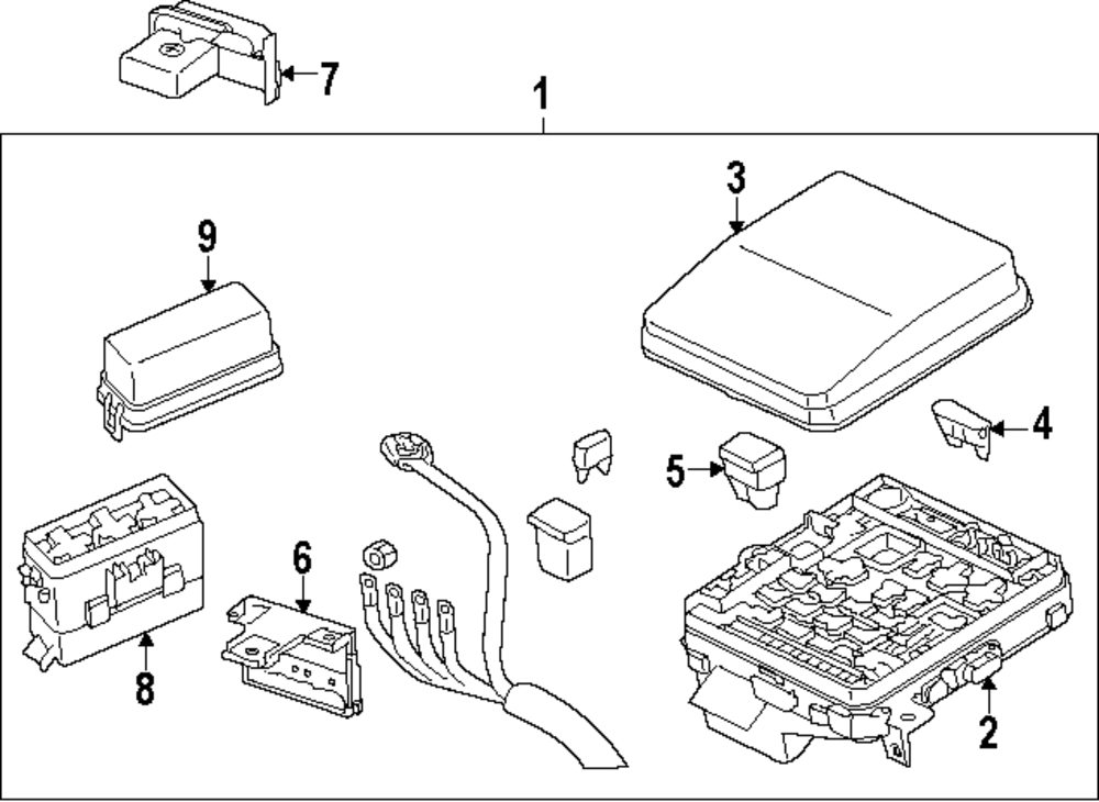 browse a sub category to buy parts from this is not a real site Ford Probe Fuse Box Diagram genuine mitsubishi wire harness mit 8501d159