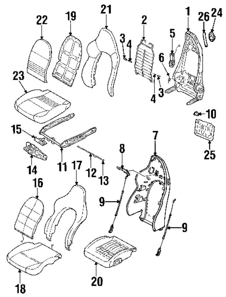 Mitsubishi Montero Seat Covers