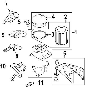 Browse A Sub Category To Buy Parts From 2007 Land Rover Lr3 Engine Diagram Genuine Filter Seal Ran Lyx000120