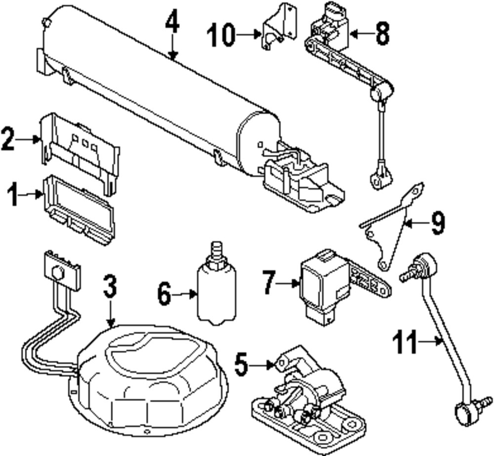Browse A Sub Category To Buy Parts From 2004 Range Rover Transmission Wiring Diagram Genuine Land Sensor Bracket Ran Rqu000200
