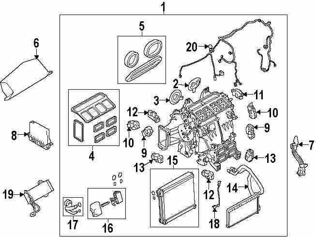Mopar Direct Parts Dodge Chrysler Jeep Ram Wholesale Retail. Genuine Land Rover Ac Heater Assy Seal Kit Ran Lr046950. Jeep. Jeep Hvac Parts Diagram At Scoala.co