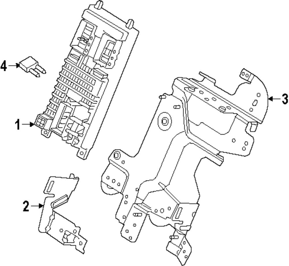 Browse A Sub Category To Buy Parts From 2010 Land Rover Lr2 Fuse Box Diagram Genuine Mount Bracket Ran Lr028907