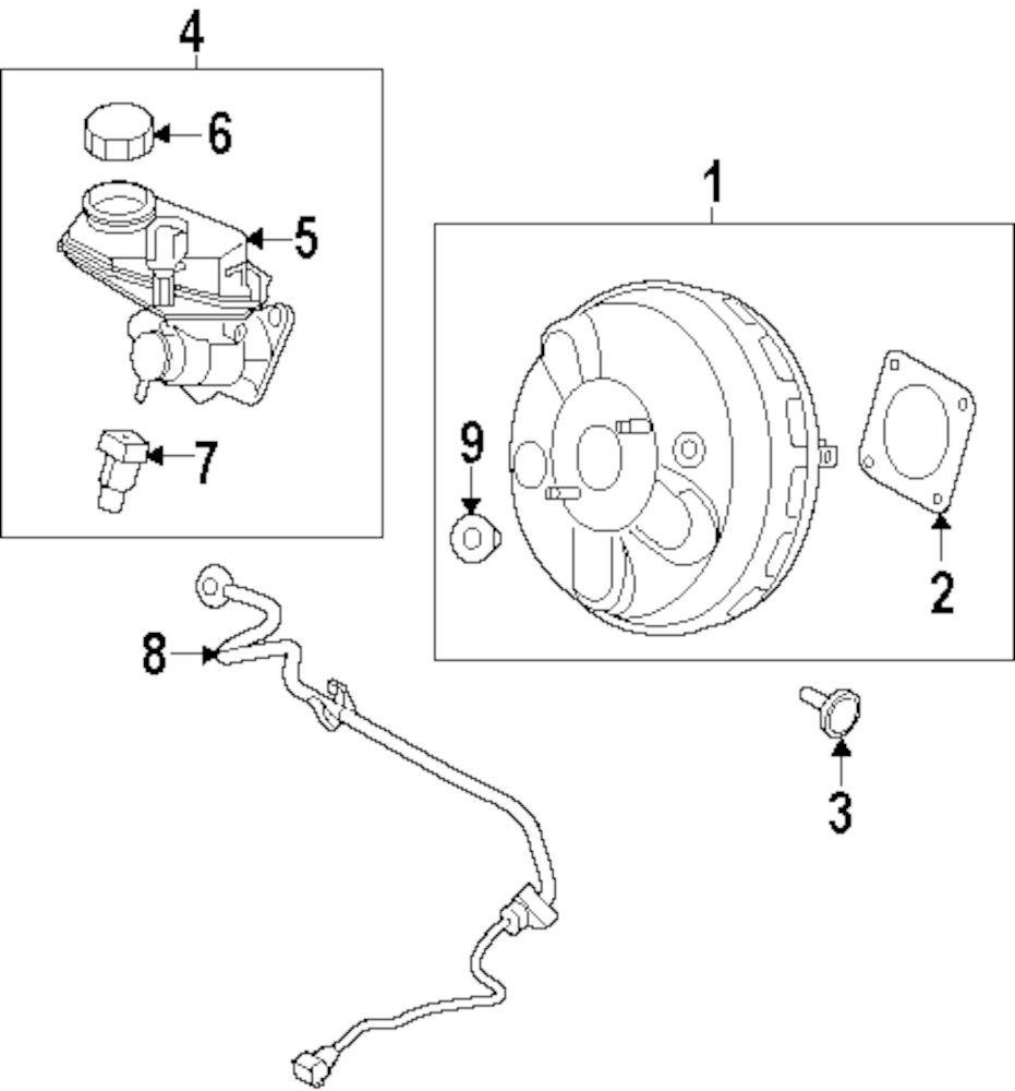 Browse A Sub Category To Buy Parts From Rover Vacuum Diagram Genuine Land Booster Assy Pin Ran Lr000249