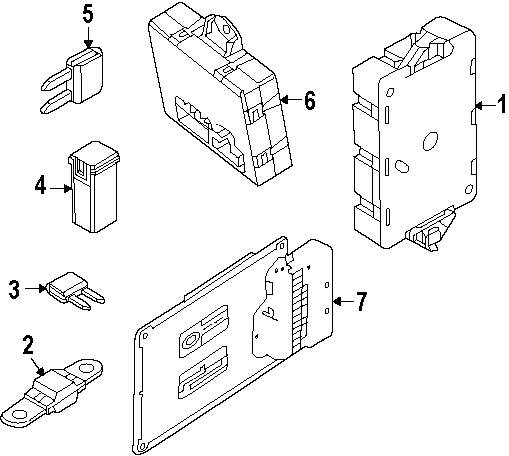 Browse A Sub Category To Buy Parts From Kia Borrego Fuse Box Genuine Land Rover Circuit Breaker Ran Lr042645