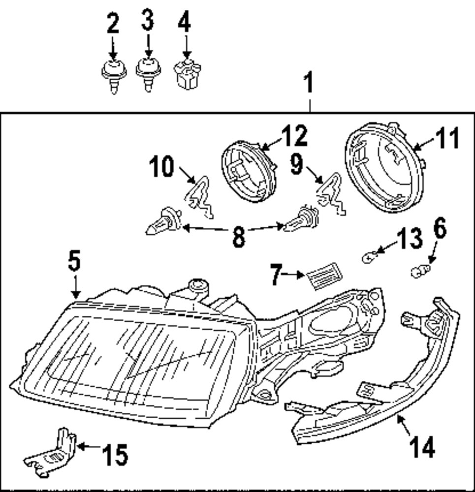 1999 toyota sienna parts catalog