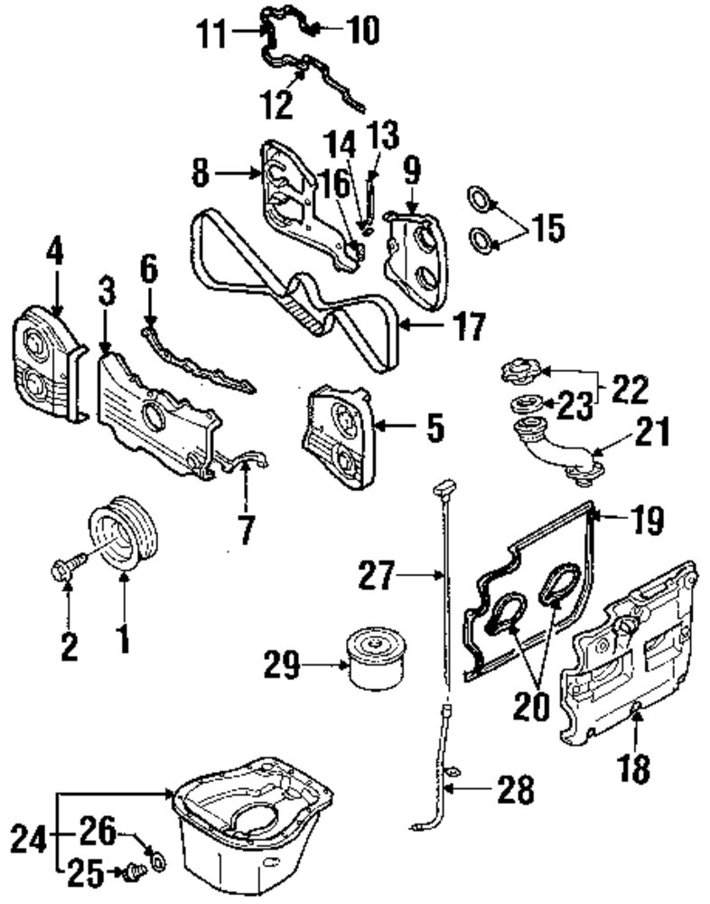 Valve Cover Gasket: Infiniti M35 Engine Diagram At Johnprice.co