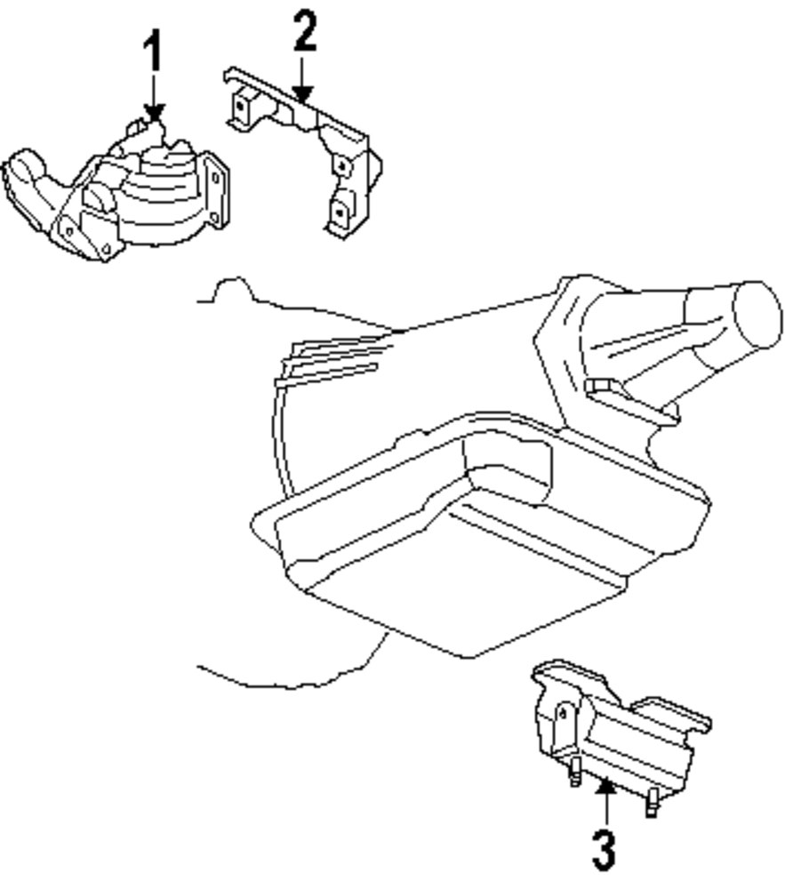 Browse A Sub Category To Buy Parts From Saab Engine Diagram Genuine Trans Mount Sab 15299557