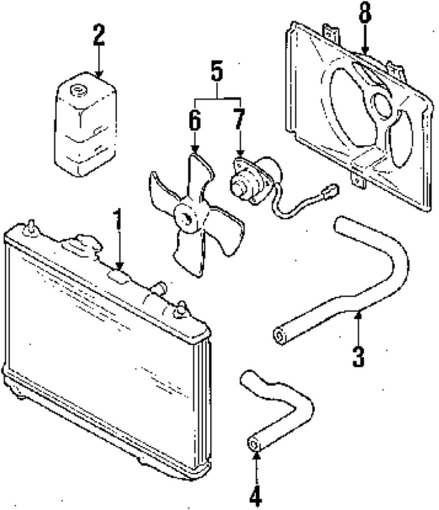 Browse A Sub Category To Buy Parts From Subaru Motor Diagram Genuine Lower Hose 745162310