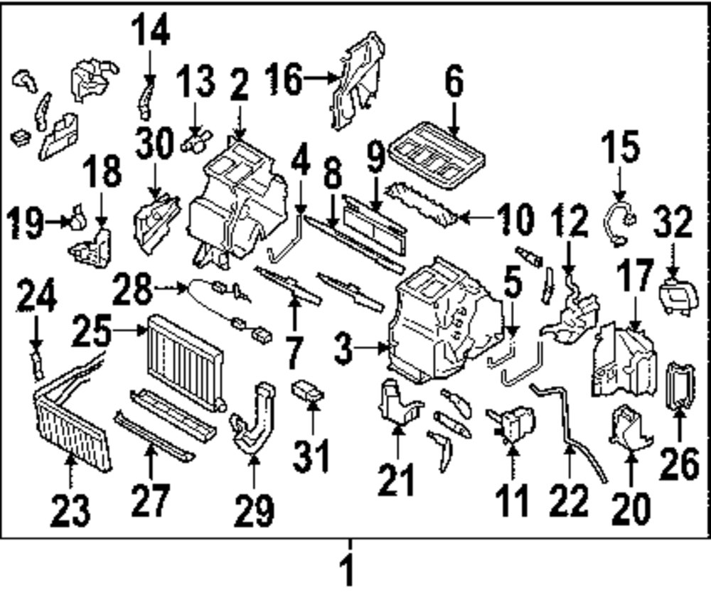Browse A Sub Category To Buy Parts From Subaru Heater Hose Diagram Genuine Actuator 72131ag09a