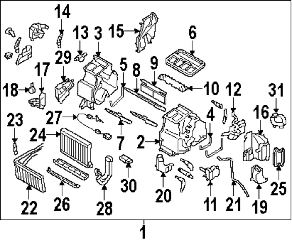 Browse A Sub Category To Buy Parts From Subaru Heater Diagram Genuine Core 72130ag06a