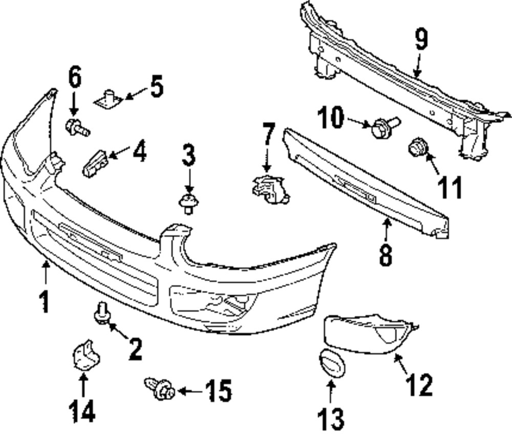 Subaru Body Diagram Simple Wiring Forester Engine Parts Detailed Suspension