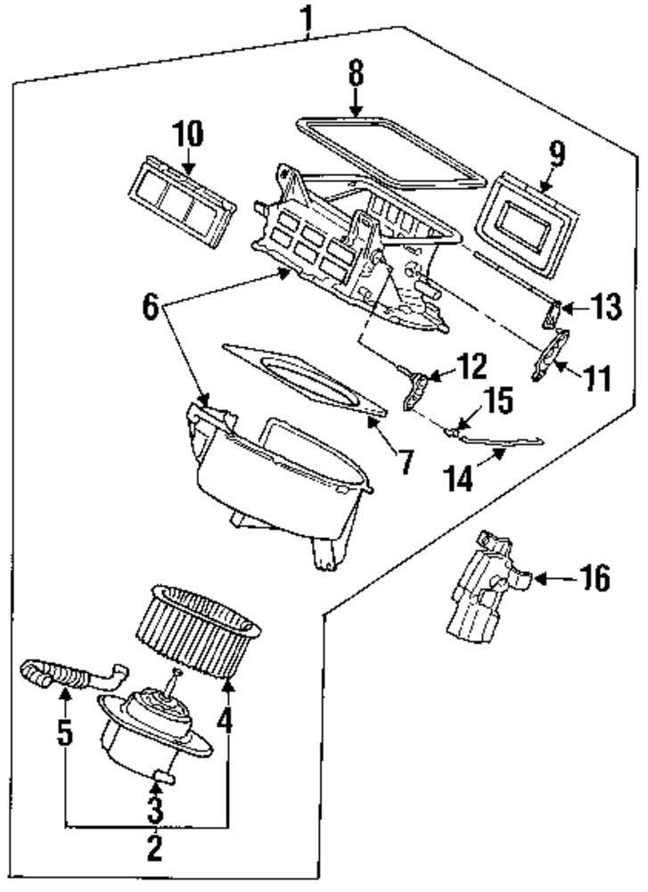 Subaru Svx Parts