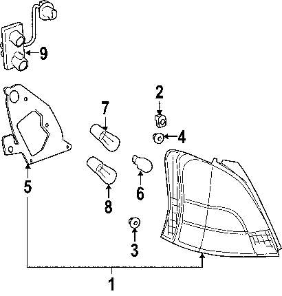 TAIL LAMP ASSY