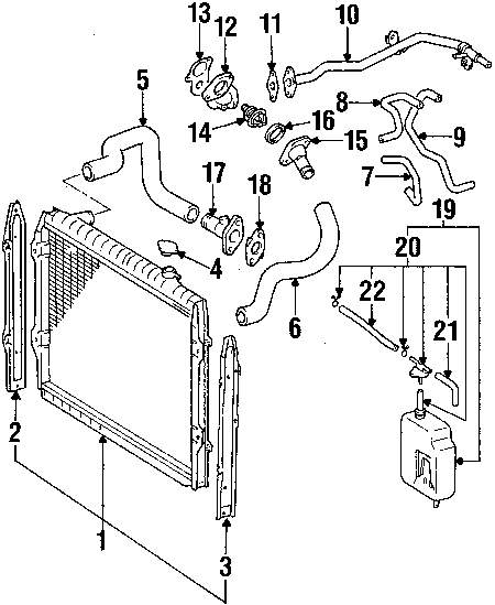 1996 toyota cooling system diagram diy enthusiasts wiring diagrams u2022 rh okdrywall co