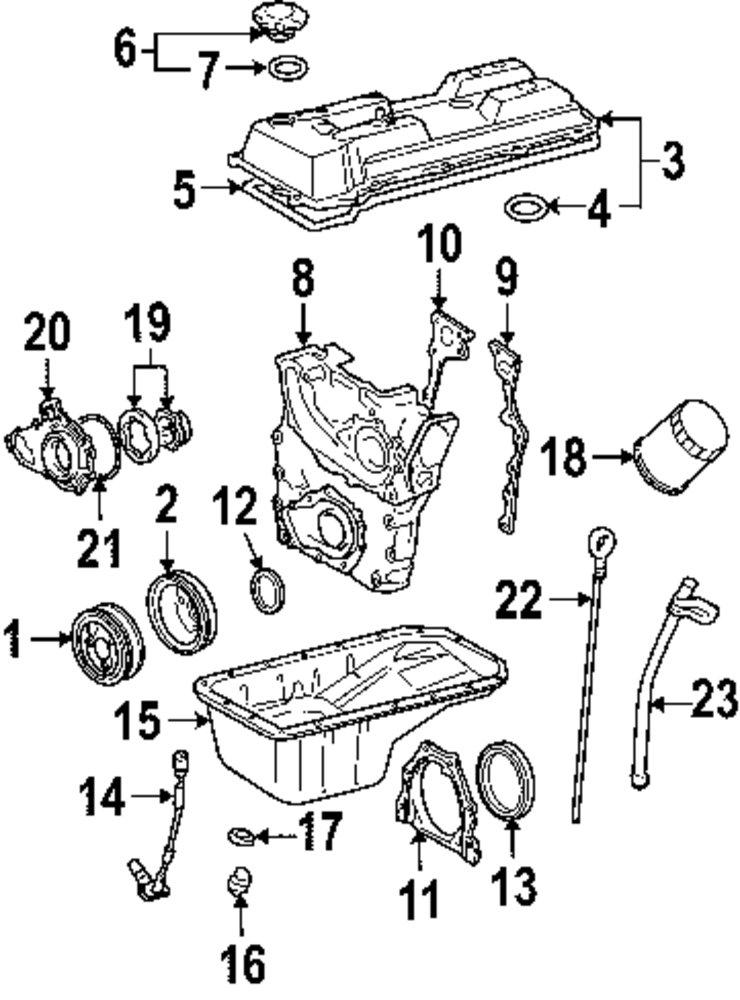 1999 Mitsubishi 3000gt Engine Parts Parts