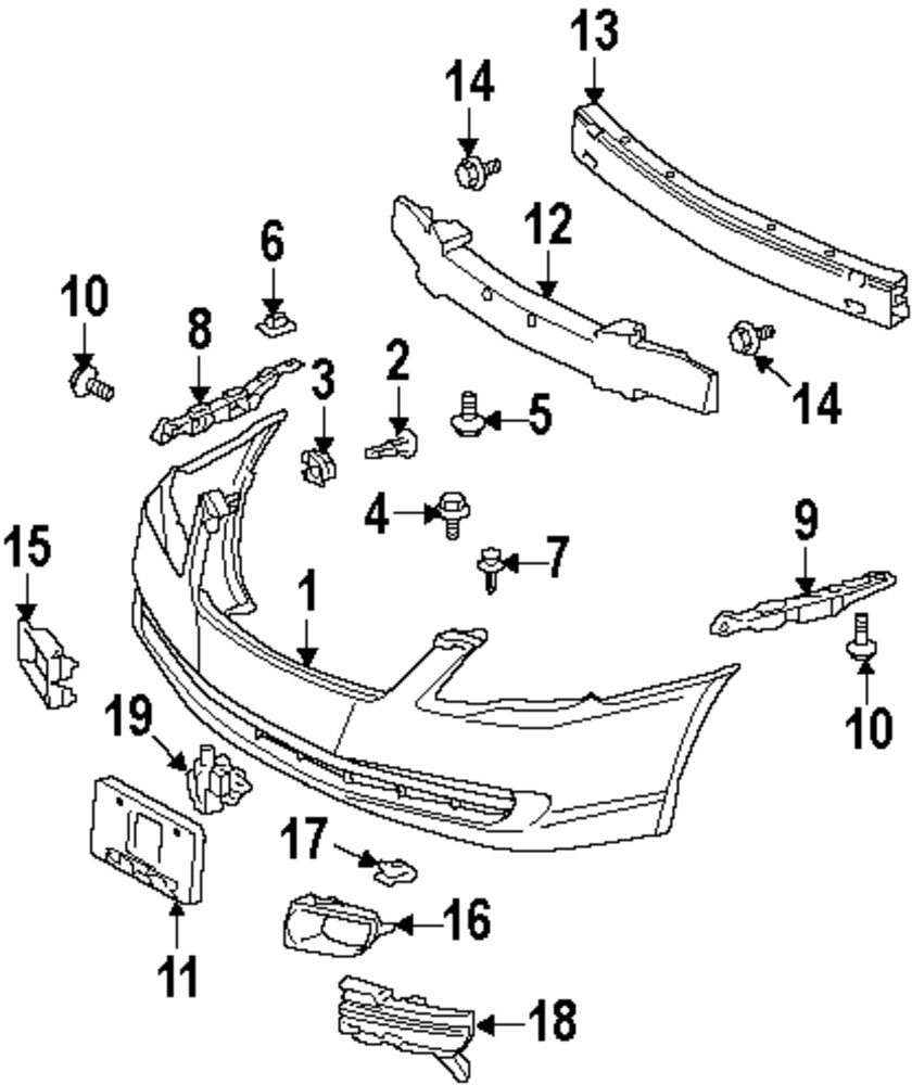 2005 toyota avalon parts diagram  u2022 wiring diagram for free