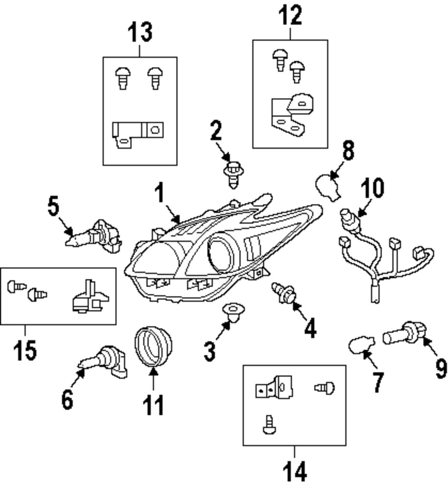 Browse A Sub Category To Buy Parts From Toyota Wiring Harness Genuine Repair Bracket Toy 8119447030
