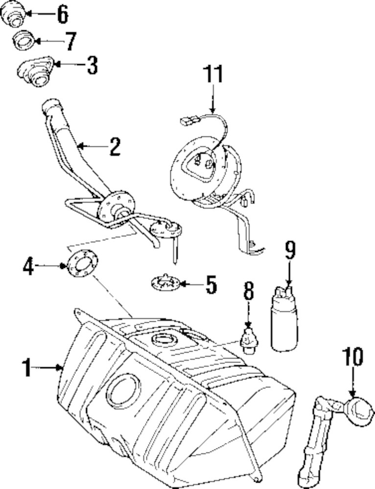 Fuel System Parts For Mitsubishi