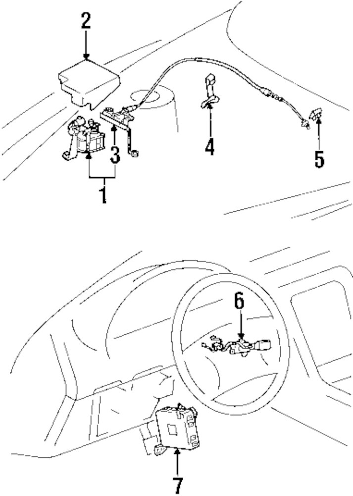 Lexus Cruise Control Diagram
