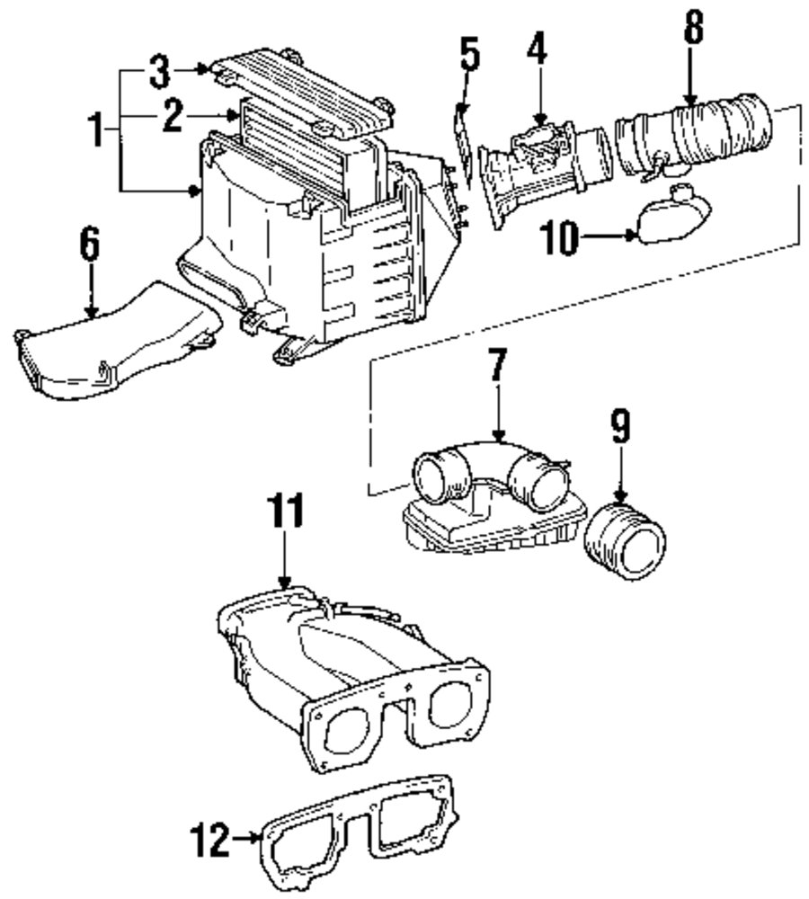 Mopar Direct Parts Dodge Chrysler Jeep Ram Wholesale Retail Sc300 Engine Diagram Air Cleaner Assy