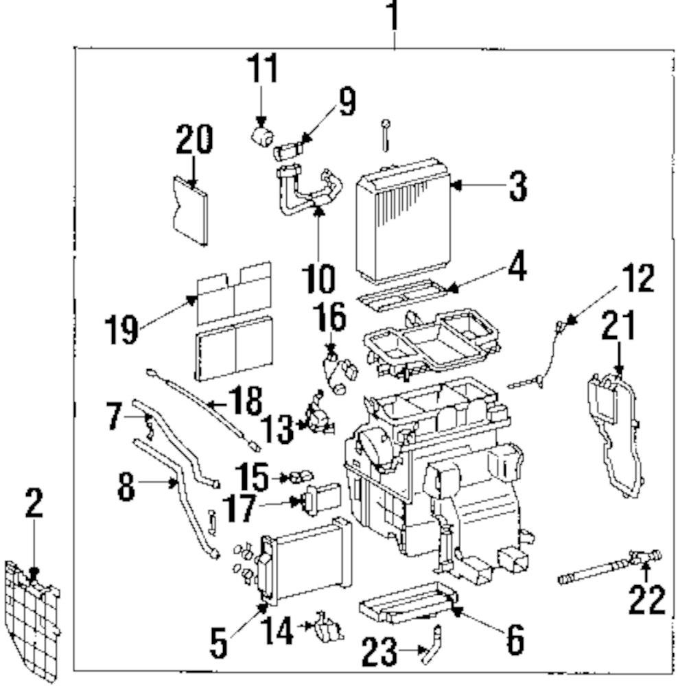 Mopar Direct Parts Dodge Chrysler Jeep Ram Wholesale Retail. Genuine Lexus Evaporator Core Lower Cover Lex 8889106040. Jeep. Jeep Hvac Parts Diagram At Scoala.co