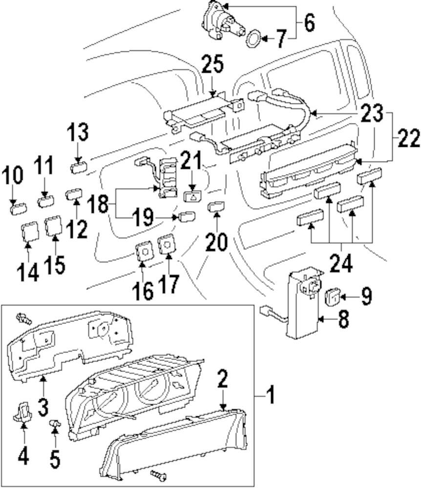 lexus lx470 fuse box wiring diagrams