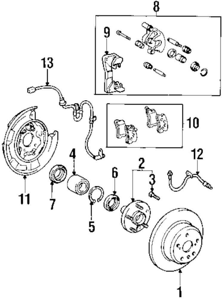 2001 Lexus Rx300 Parts Diagram