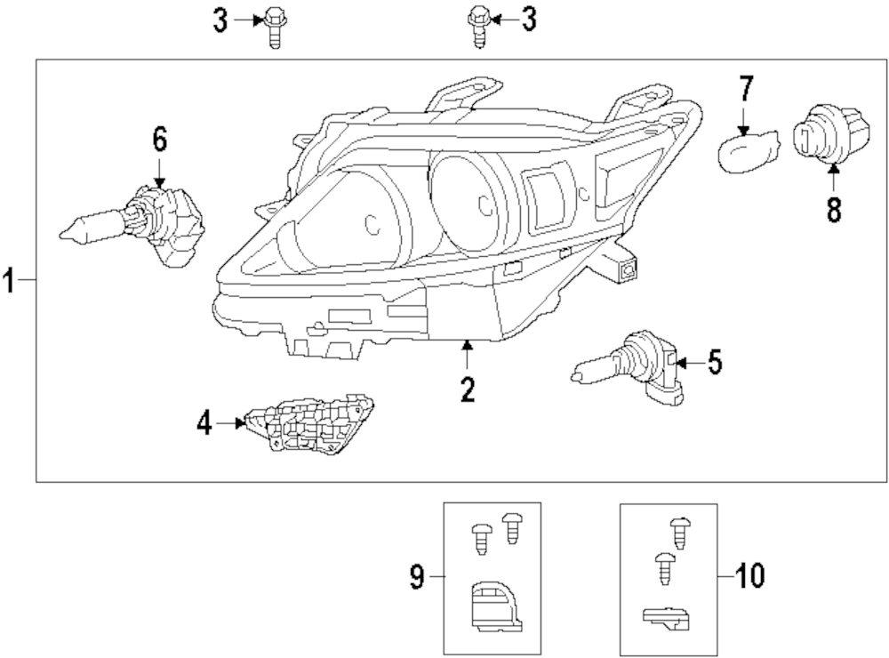Genuine Lexus: Lifebulb Led Wiring Diagram At Teydeco.co