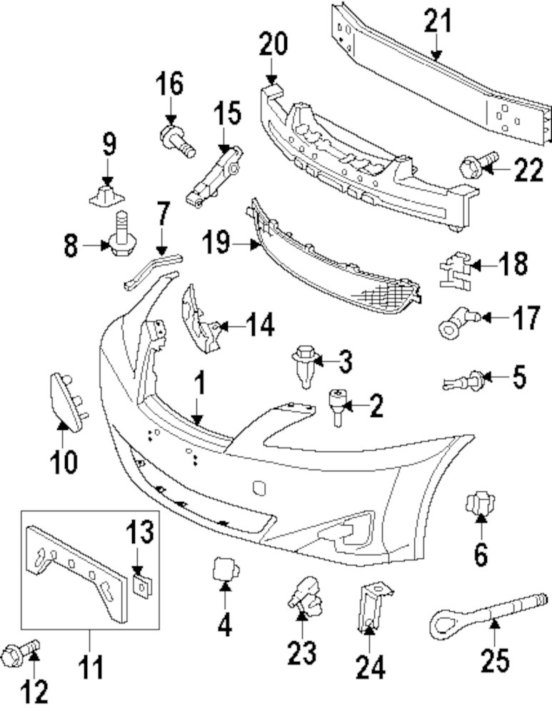 lexus rx330 exhaust diagram