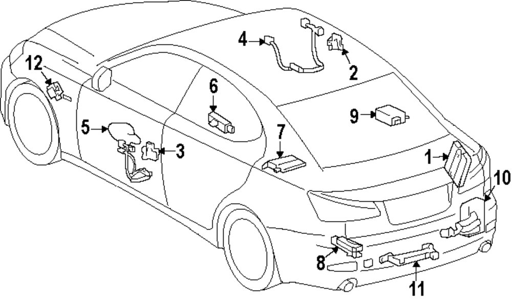 Lexus Parts For Order