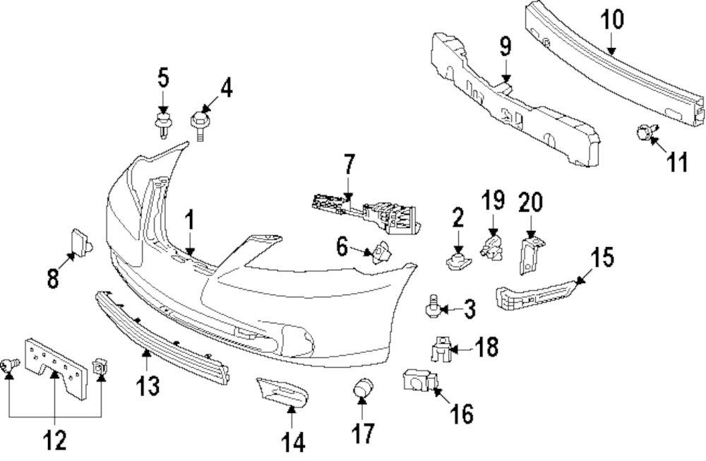Buy Front Bumper Parts For Lexus Es350 Vehicle Jm Lexus Parts