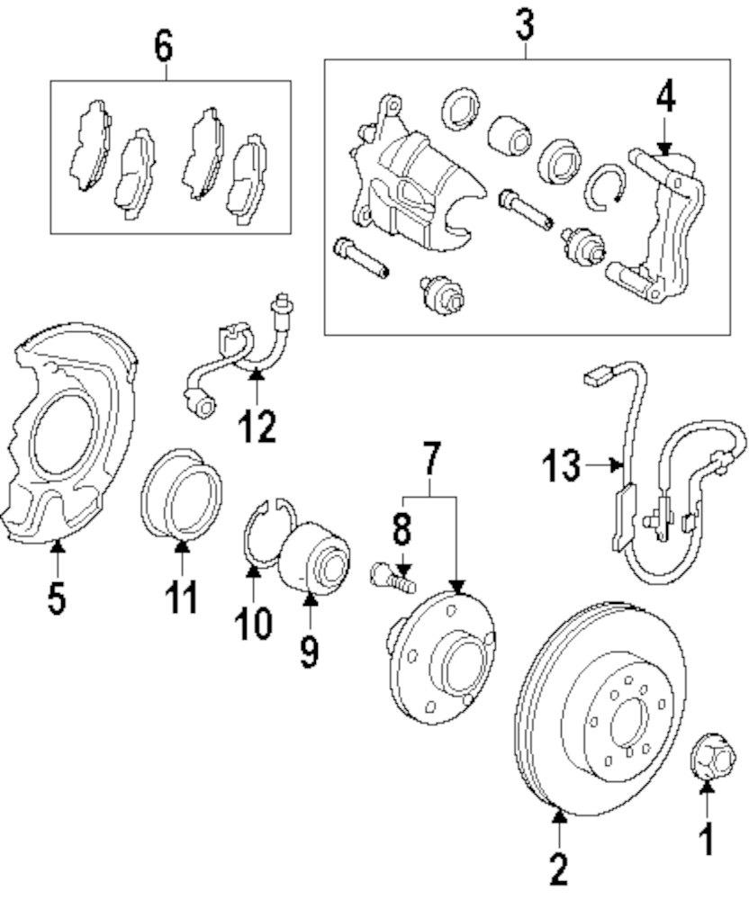 2011 Lexus Es 350 Parts Diagram Experience Of Wiring Es300 Engine Es350 Brake Components Jm Jmlexus Com Rh