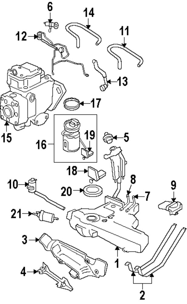 2003 suzuki aerio parts catalog
