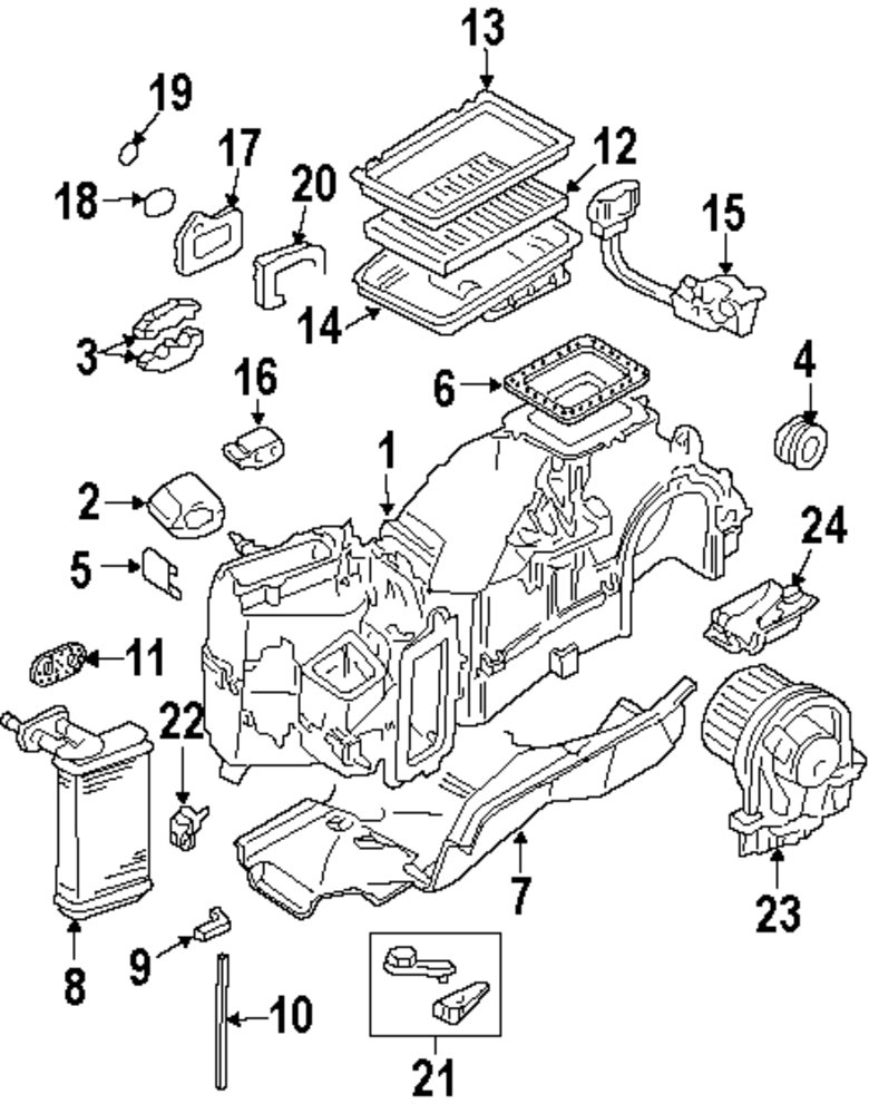 automotive ac components diagram