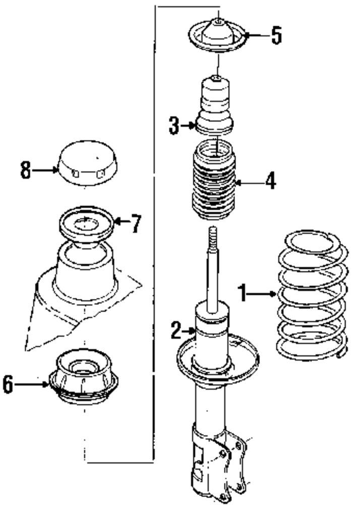 Vw Strut Diagram