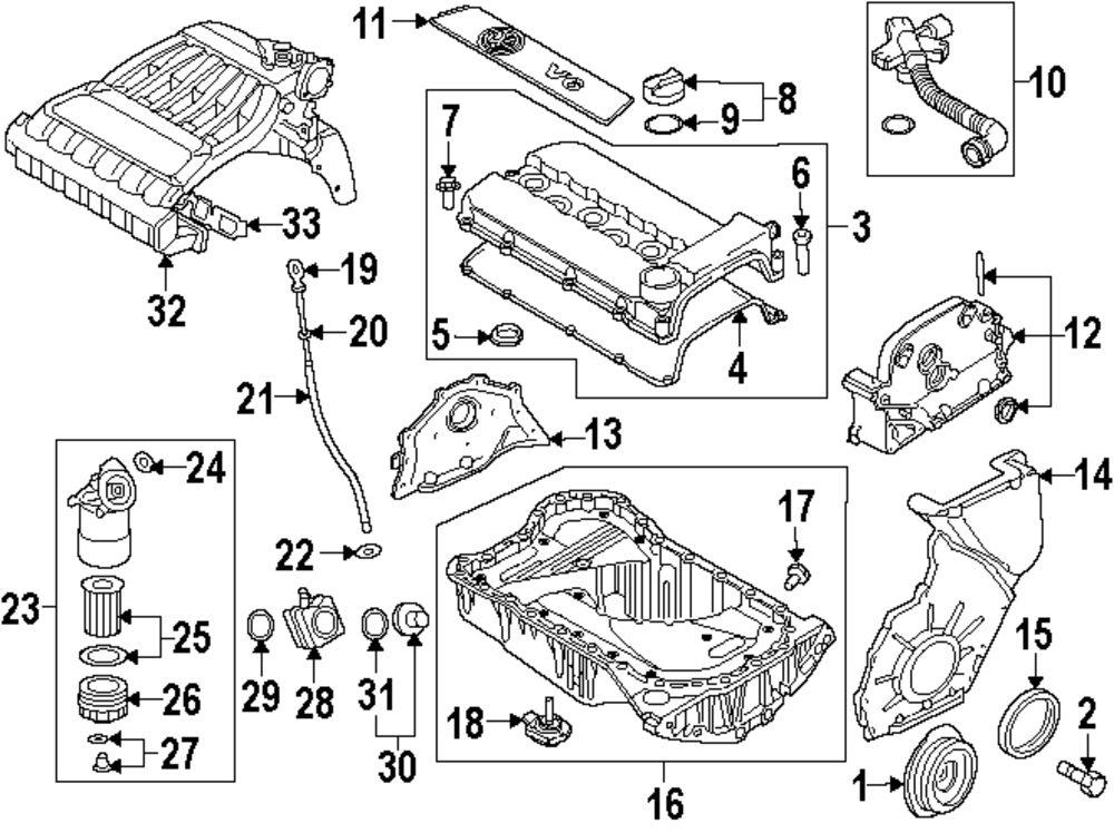 mopar direct parts dodge chrysler jeep ram wholesale retail parts VW GTI Engine Parts Diagram genuine volkswagen oil cooler gasket vwg 038117070a