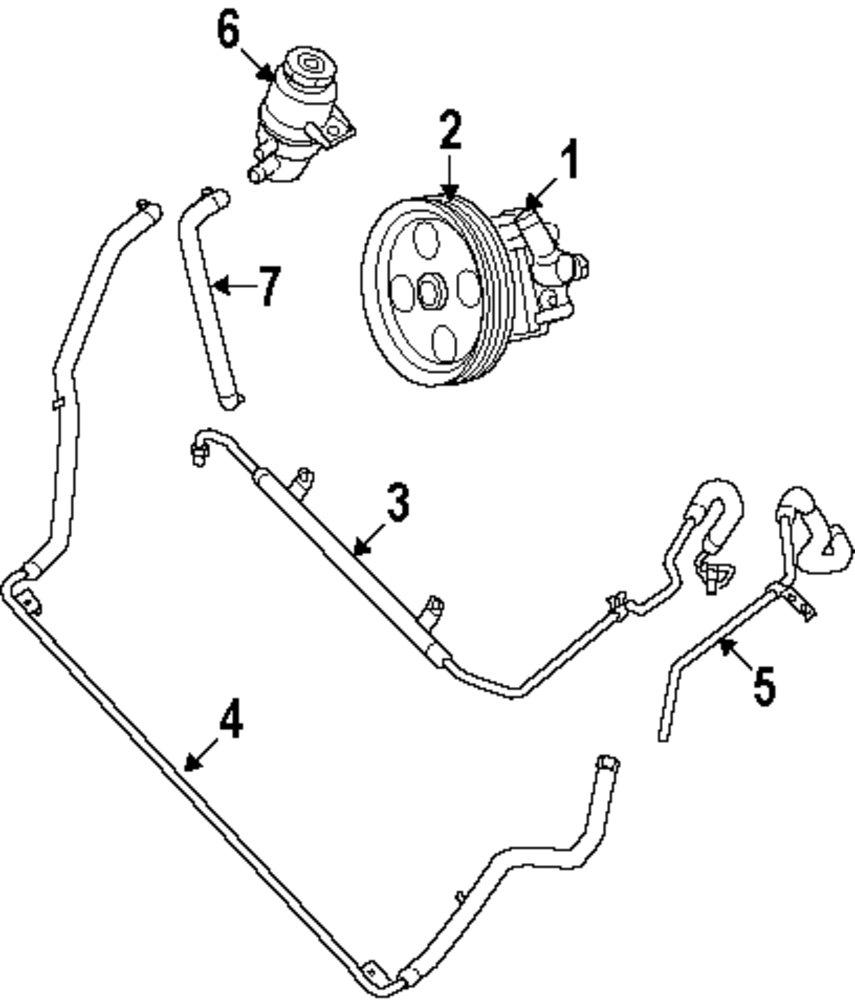 2010 dodge caravan power steering diagram