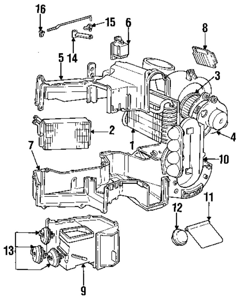Browse A Sub Category To Buy Parts From Ac Diagram For Volvo Genuine Rod Clip Vol 1307200