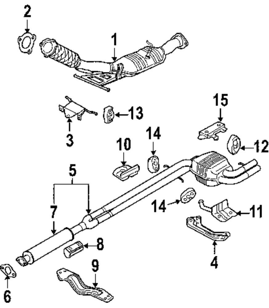 Mopar Direct Parts Dodge Chrysler Jeep Ram Wholesale Retail Exhaust Diagram Volvo V70 Genuine Center Pipe Hanger Vol 30657359