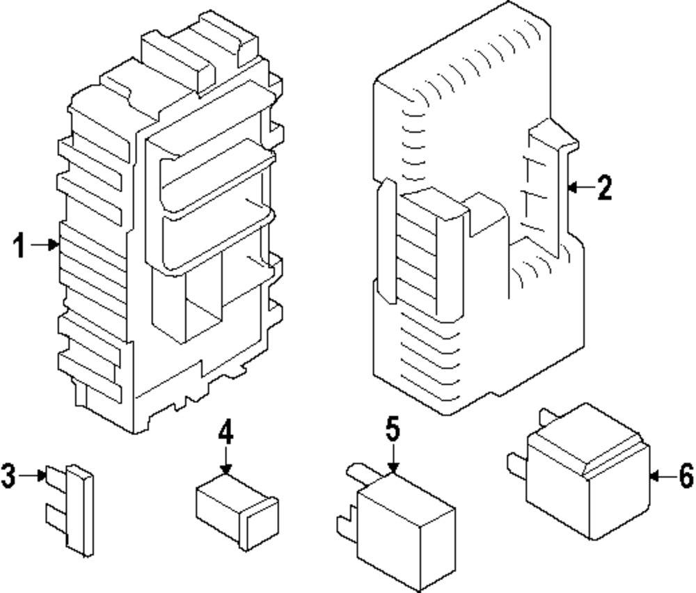 2011 Volvo S60 Electrical Parts 100259 1031 Fuse Box Genuine Vol 30728784