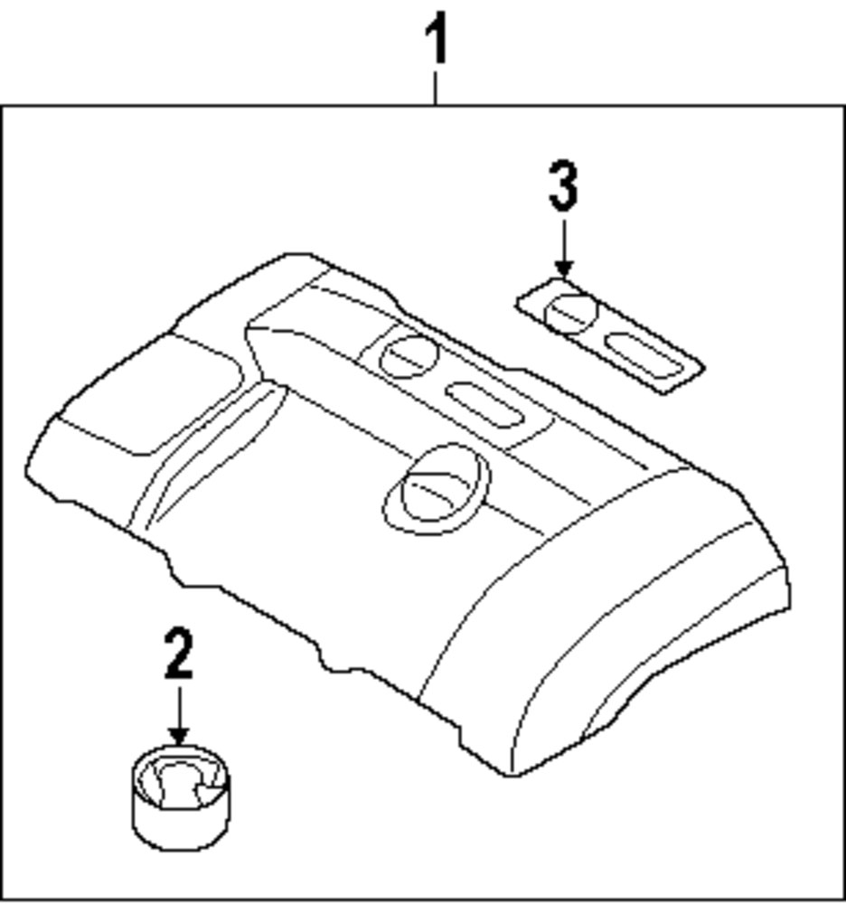 Browse A Sub Category To Buy Parts From 2002 Volvo S80 Engine Diagram Genuine Cover Vol 30757829