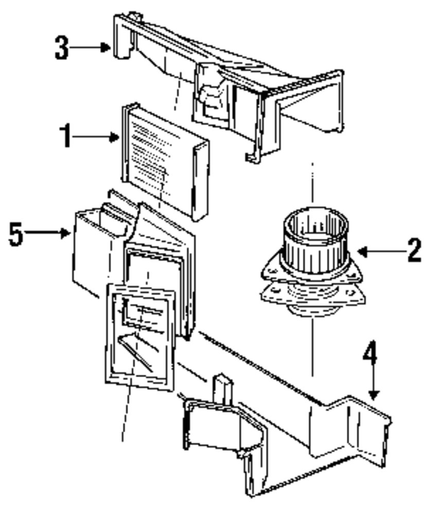 Browse A Sub Category To Buy Parts From Ac Diagram For Volvo Genuine Air Distributor Vol 1362473