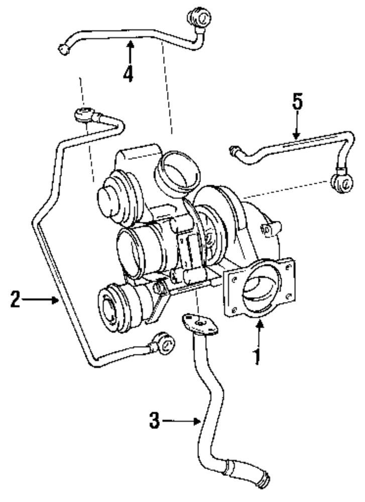 1997 Volvo S90 Engine