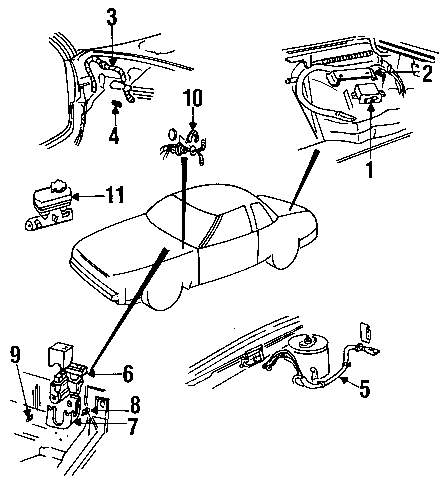 Browse A Sub Category To Buy Parts From This Is Not Real Site Buick Abs Diagram Genuine Control Unit Bui 3534410