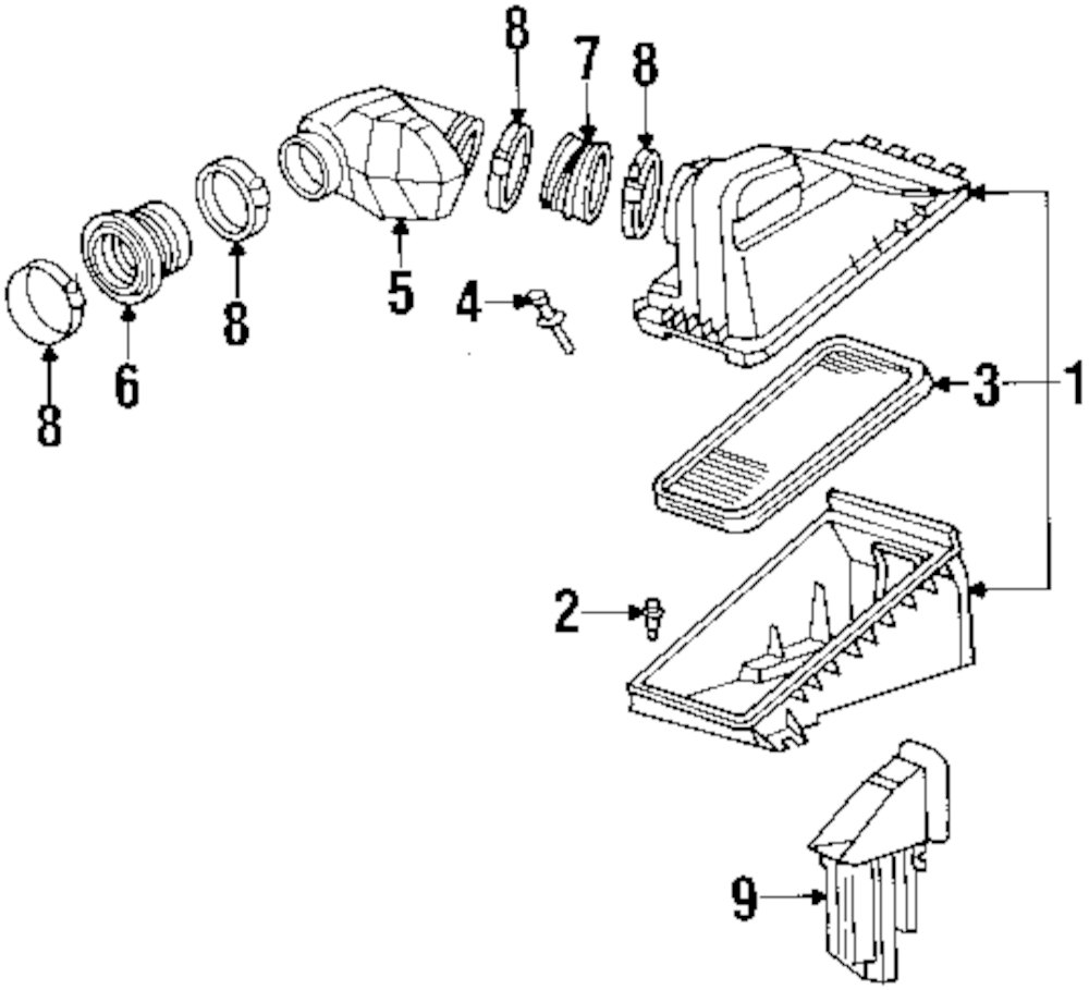 2003 buick century front end diagram