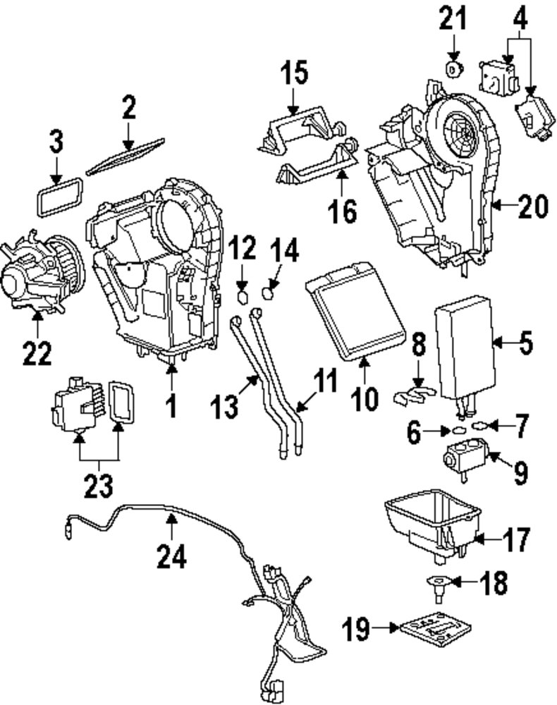 Browse A Sub Category To Buy Parts From This Is Not Real Site Seal Wire Harness Genuine Buick Front Case Upper Bui 15814847